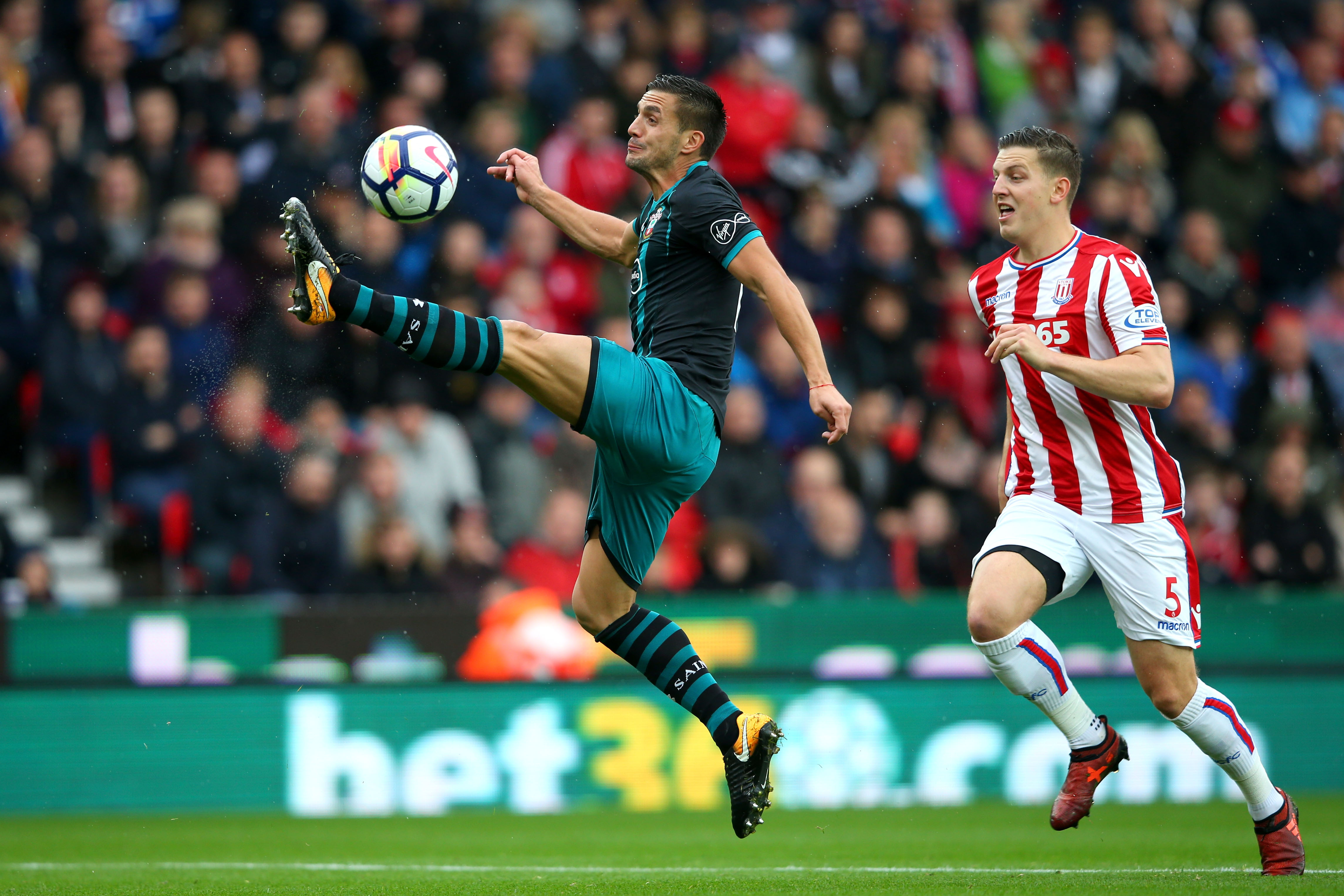 Stoke and Saints showed why they are in a relegation tug after a bore draw.